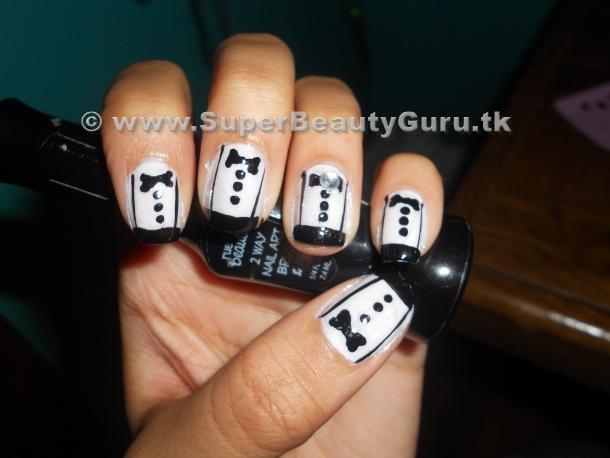 Tuxedo Gallery Nails