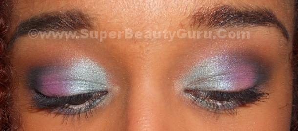 beautiful mermaid eye makeup