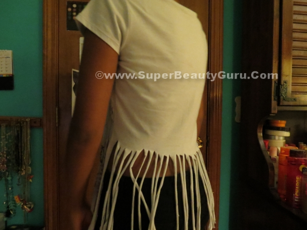 Fringed top tutorial