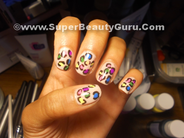 leopard print video tutorial