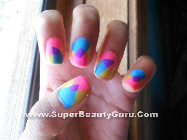 Colorful Nail Tutorial