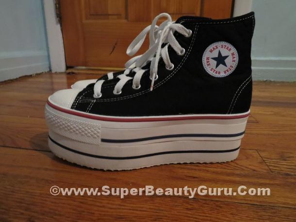 Black Sneaker Platforms