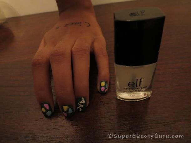 Chalkboard Inspired Nail Design