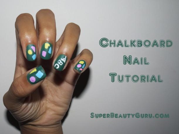 Chalkboard Nail Tutorial