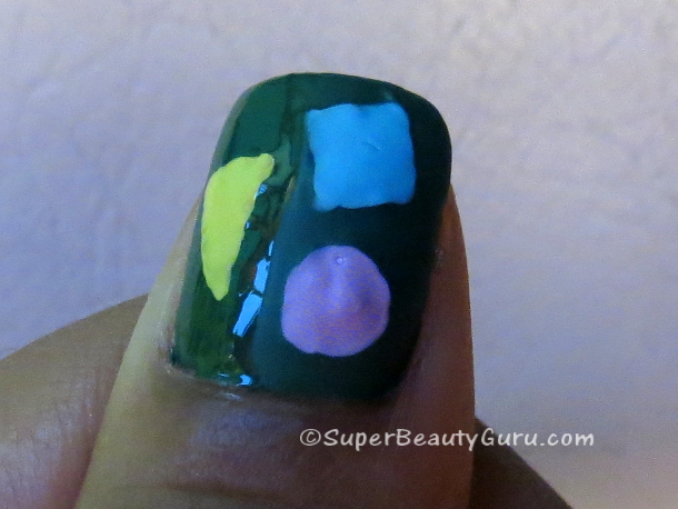 Difference between matte topcoat and shiny