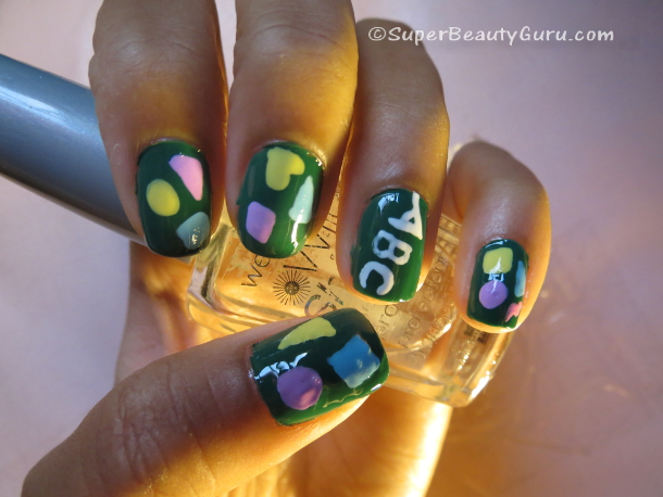 Shapes Nail Design