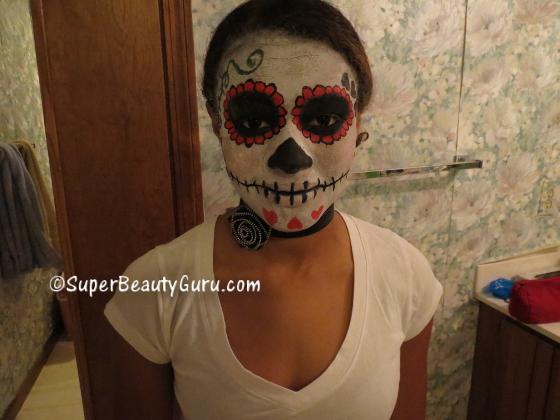 How to do Sugar Skull Makeup Tutorial