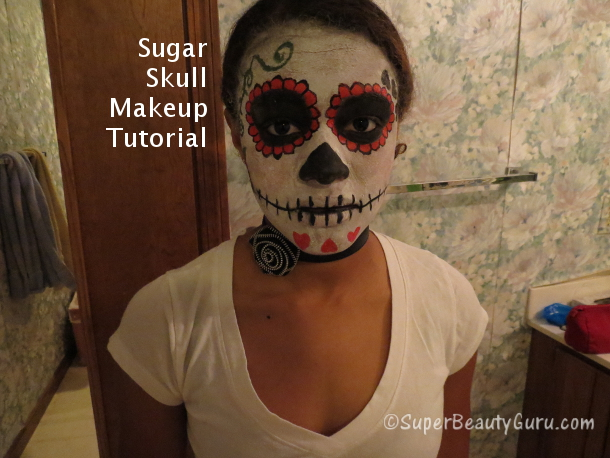 Sugar Skull Day of the Dead Makeup Tutorial