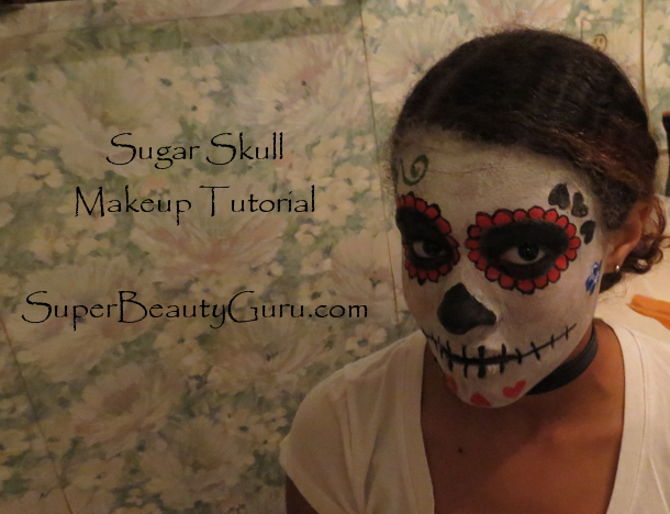 Sugar Skull Makeup Tutorial