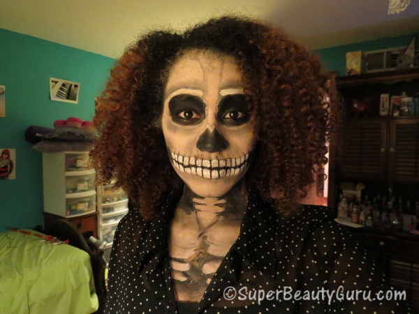 Best Skeleton Halloween Makeup Amber Johnson