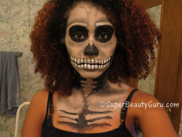 Face Paint Idea Skeleton