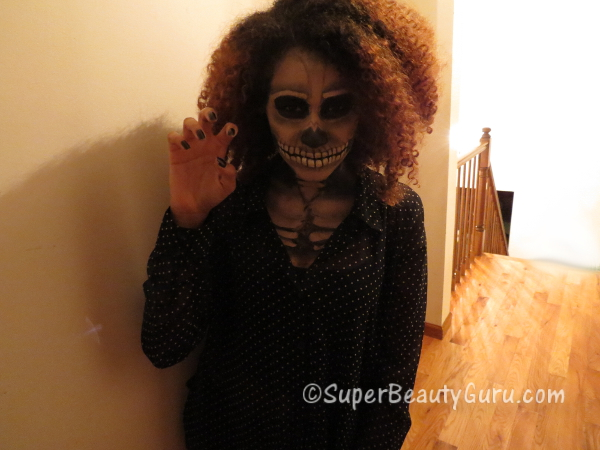 Haunted Skeleton Makeup Tutorial