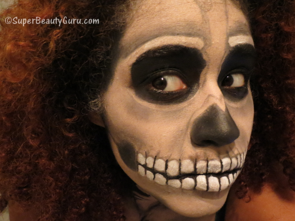 Real Looking Skeleton Makeup Tutorial