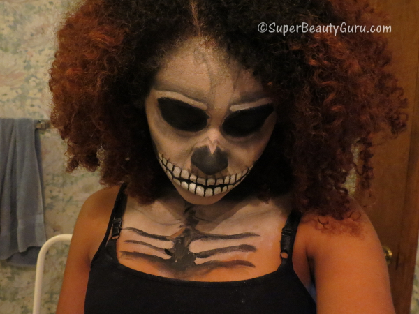Scary Skeleton Makeup