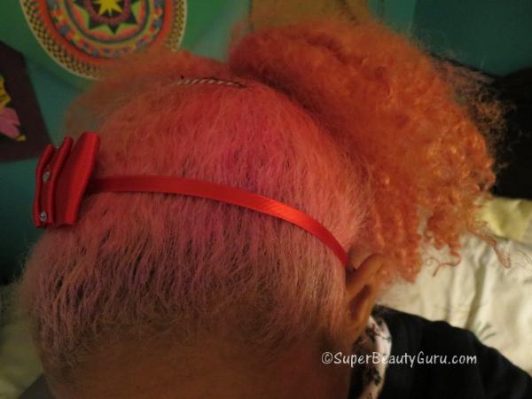 Pink Hair on Christmas