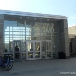 UDel glass building