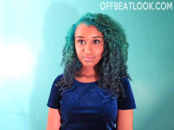ombre blue hair tutorial