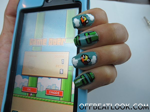 Flappy Bird Nails