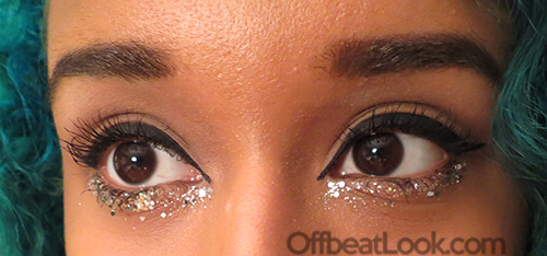 Chanel Glitter eye tutorial