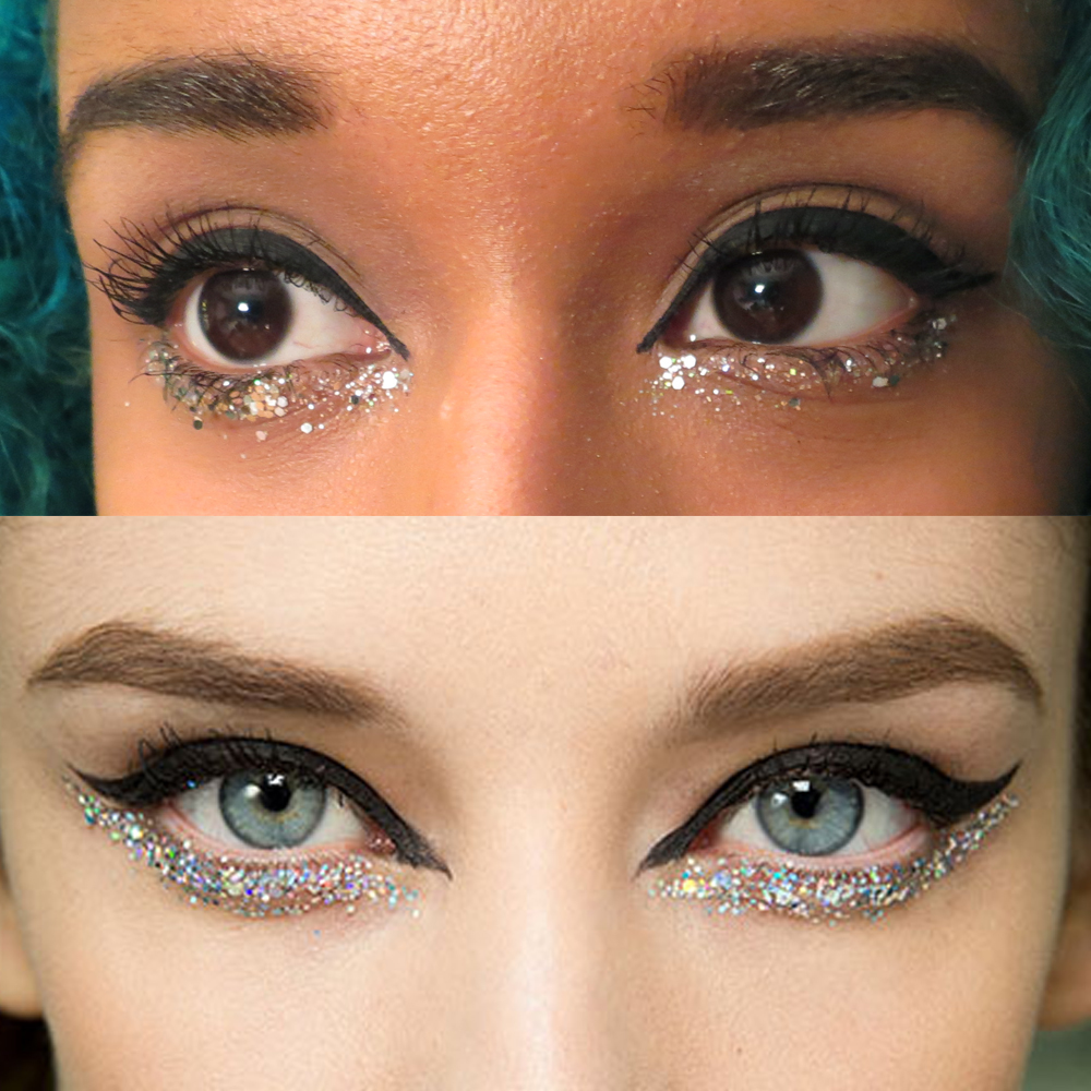 Chanel Spring 2014 Glitter Eye Tutorial
