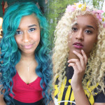 How to fade out blue semi-permanent hair dye tutorial