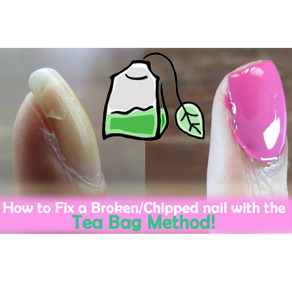 How to Fix a Broken Nail with a Teabag! | Offbeat Look