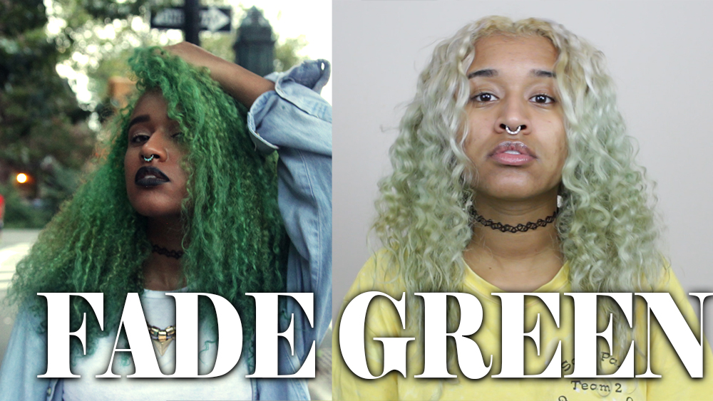 How To Fade Green Hair Dye Or Other Semi Permanent Hair Dye Colors